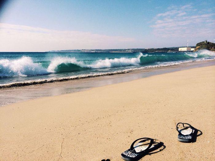 「早安!暖暖的墾丁,暖暖的沙灘~」