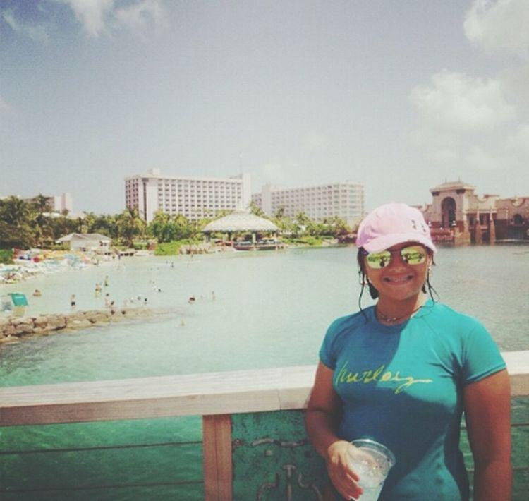 Hi! Atlantis, Bahamas.  ♡