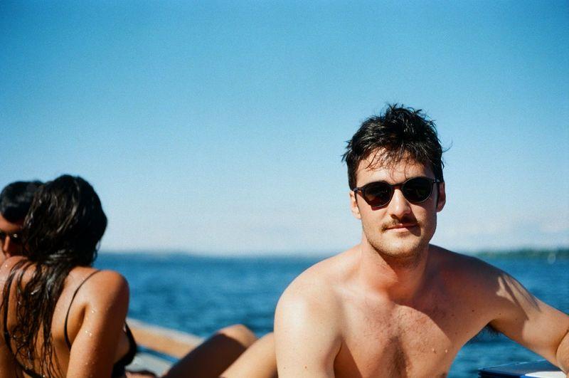 35mm Beach Kodak Portra Leisure Activity Lifestyles Minolta Outdoors Portaiture Portrait Summer