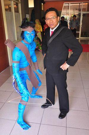 Avatar Cosplay Blue Unique