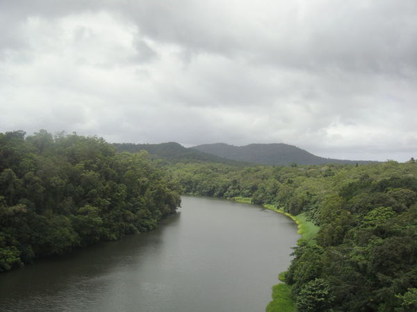 Australia Clouds Rainforest River Cairns, North Queensland, Australia