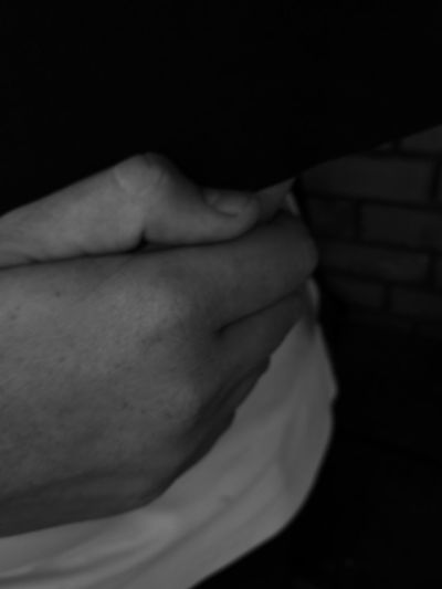Human Body Part Human Skin One Person Close-up Human Hand Blackandwhite Black & White Black And White Frekles Hand Back Human Back Beauty Black Background Indoors