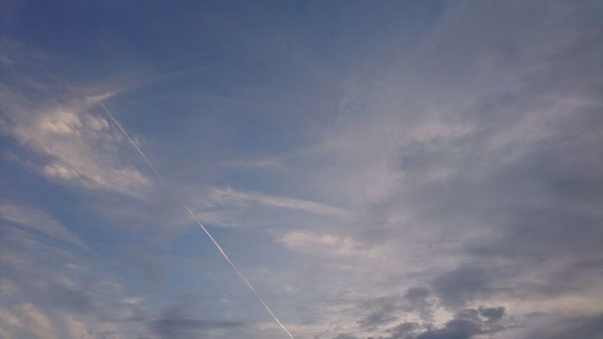 Vapor Trail Sky Cloud - Sky Flying Low Angle View Airshow Day Airplane Speed No People Outdoors Blue Nature Motion Scenics Beauty In Nature Fighter Plane