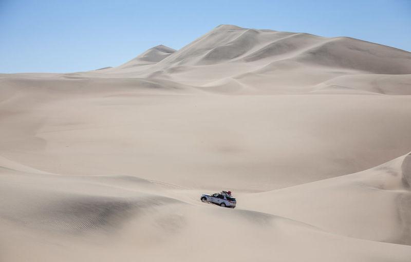 Desert Dunes Extreme Land Rover Action Land Landscape Offroad Overland Overlanding Sand Summer Road Tripping The Traveler - 2018 EyeEm Awards