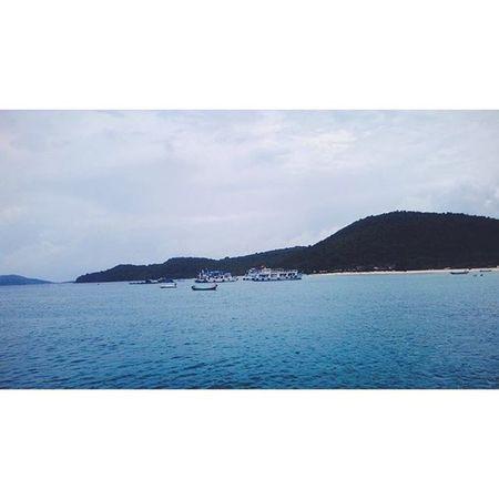 Peaceful 😊VSCO Vscocam Piclab Piclab Sea Island Travel