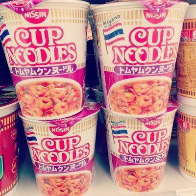 ต้มยำกุ้ง, Tom yum goong flavor.Thailand Noodles Japanesefood