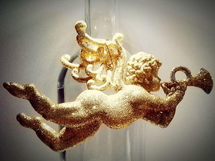 Angel Decoration Gold Habenda