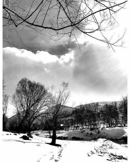 طبیعت آذربایجان در زمستان