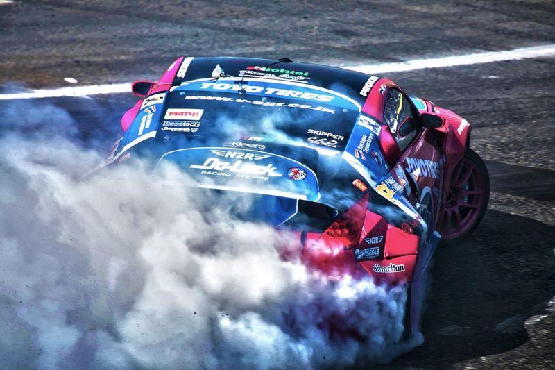 D1 ground prix Tokyo Drift! Outdoors No People Day Motorsport Drift Tokyo Odaiba Car