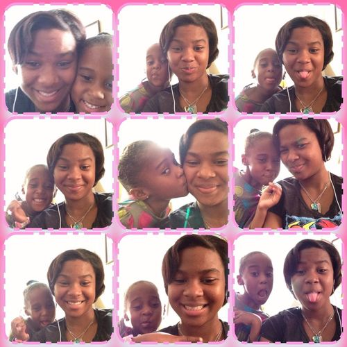 i know if he dnt love me i knoe dis lil girl do .! Sisterly Love .!!!