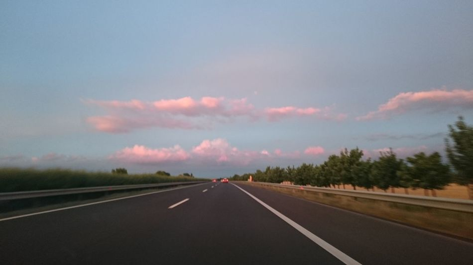 Beauty In Nature Cloud Cloud - Sky Cloudy Country Road Diminishing Perspective Empty Empty Road Highway Landscape Long Nature No People On The Road On The Way Outdoors Road Road Marking Scenics Sky The Way Forward Tranquil Scene Tranquility Transportation Vanishing Point