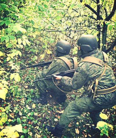 Russians Waiting For You In The Forest, Army
