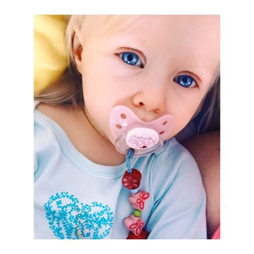 When i look in your eyes, i see the universe ! ✨❤ Cute Baby Portrait Beatifulbaby Babygirl One Person Real People Looking At Camera Child People Knutschkugel Bestoftheday Eyemphotography EyeEm Best Shots Eyem Blue Eyes Blond Hair