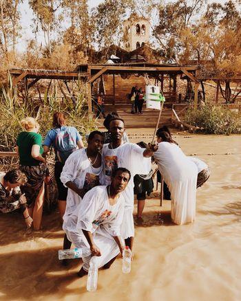 Selfie ✌ Selfies Real People Outdoors Day People Epiphany Religion Faith Israel Qasr El Yahud מייקאסר מייאייפון7 Shotoniphone7plus IPhone7Plus Mobile Conversations The Photojournalist - 2017 EyeEm Awards