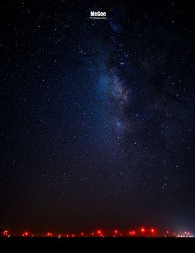 Milky Way Texas Night Sky