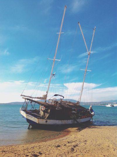 Ship Seaside Going Sailing Blacksea