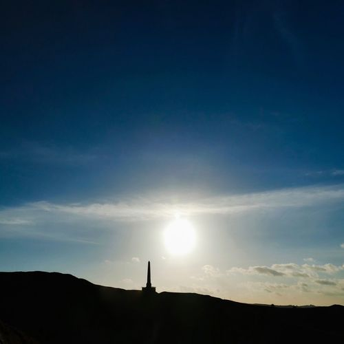 Obelisk Creative Light And Shadow Landscape #Nature #photography Landscape_photography Creative Light Coloursplash Imagination Silhouette Sun Sunset