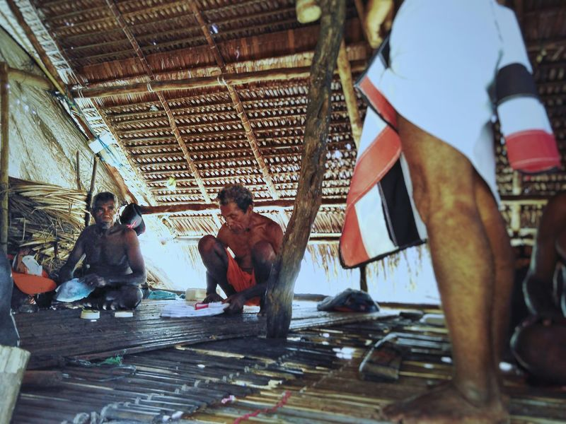 grand traditional father Traditional Indonesia Photography  Sony A6000 Adat Maluku  Aru Men Working First Eyeem Photo