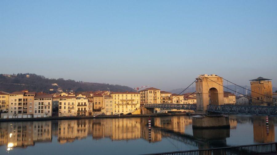 Reflection Water Rhône