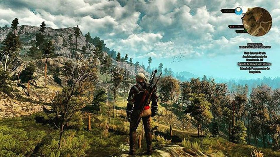Clouds Sky Beautiful Cloudsporn Cloudscape Wonderful Impressive Mountains Thewitcher3 Gamestagram Geraltofrivia Ps4share PS4