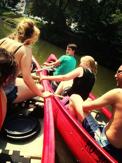 Kanu Fahren Leidenschaft ♥ By The River Enjoying Life