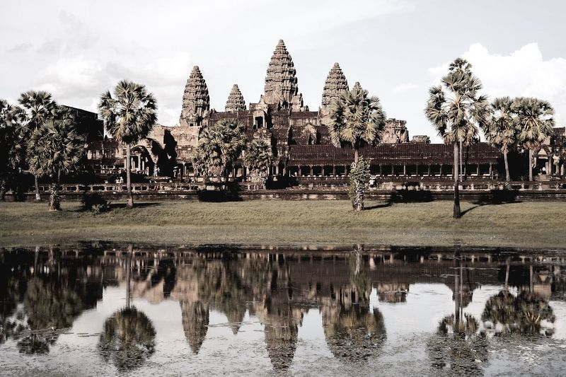 Angkor Wat, Cambodia Angkor Wat, Temples, Kmer Culture Asian Culture Cambodia Cambodia Travel Khmer Culture Siem Reap Travel Photography UNESCO World Heritage Site Angkor Temple Angkor Wat Angkor Wat Moat Angkor Wat Reflection Angkor Wat Silhoutte Cambodia Photography Cambodia Temple Cambodia Tour Cambodian Culture Destinations Asi Khmer Empire Khmer Temple Muted Colors Pond Reflections Travel Asia Travel Cambodia