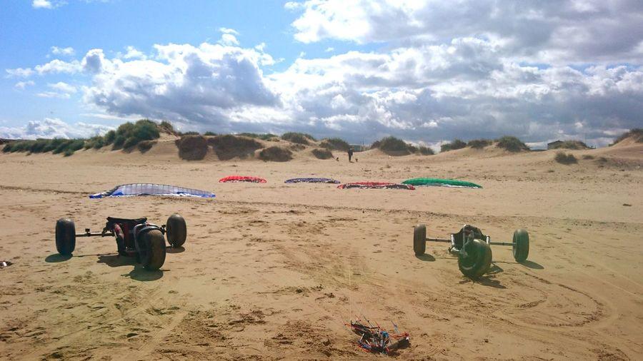live to fly Jamie Mcnaughton Powerkite Lone Flight Redcar Extreme Sports Uk Sand Dune Beach Sand Summer Sky Cloud - Sky