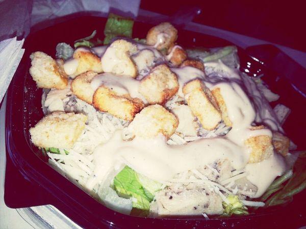 Food Porn Yummy :) Salad Mac Donald