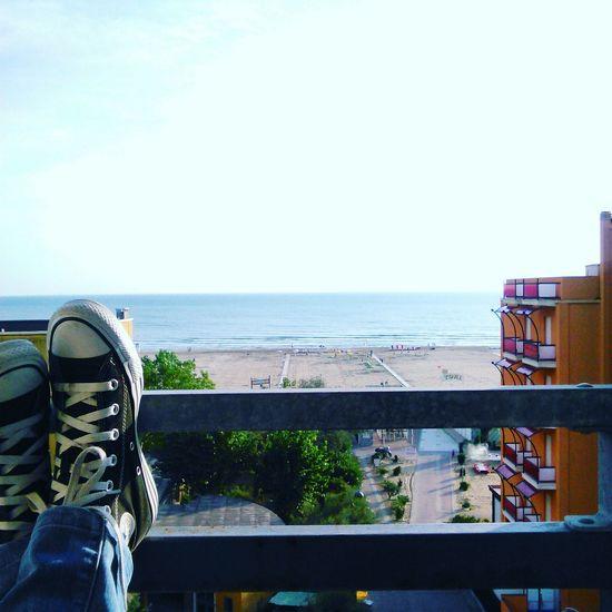 Rimini beach...beautiful place... Riminibeach👍😎 Italylover Enjoying The View Travelphotography Italyiloveyou Tbt ❤