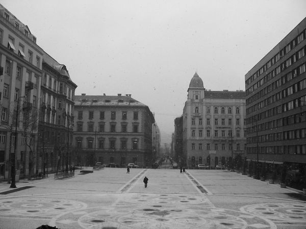 Budapest Capital Cities  Culture Emptyness Historic Perspective Seeing The Sights Silence Snow Square Urban Showcase: November