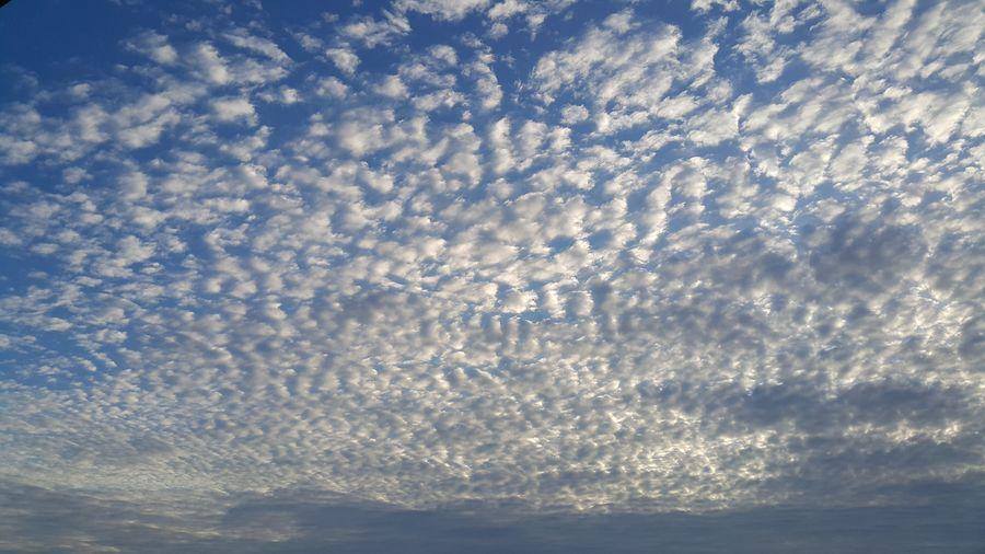 Full frame shot of cloudy sky