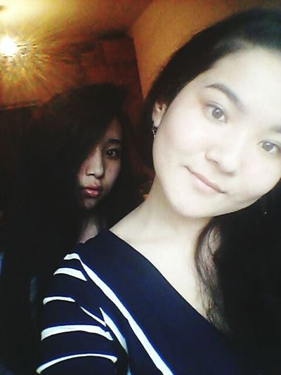 With my sister))** That's Me