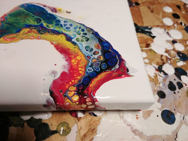 Twisted Rainbow AdaptiveArts Acrylic Painting Acrylicpainting  Abstractart Fluidartwork FluidArt DirtyPour Etsy Etsyseller Art Wetpaint Rainbow EyeEm Selects Palette Multi Colored Watercolor Painting Painted Image Artist