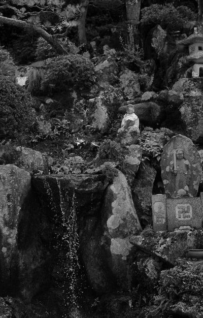 Blackandwhite Rock - Object No People Kinosaki