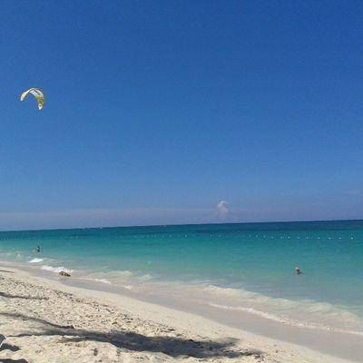 Byebye paradise :-( Dominicanrepublic Paradise Clearsky Beach lifeinthetropic nofilterneeded