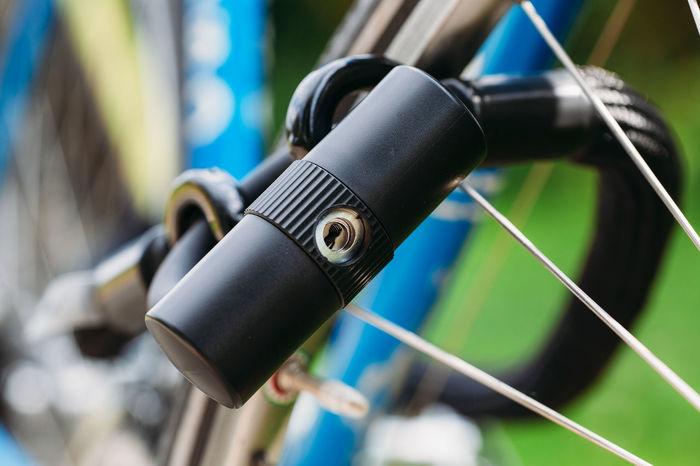 locked urban hipster bike 80s Cycle Lock Racing Bicycle Racing Bike Retro Styled Urban Vintge