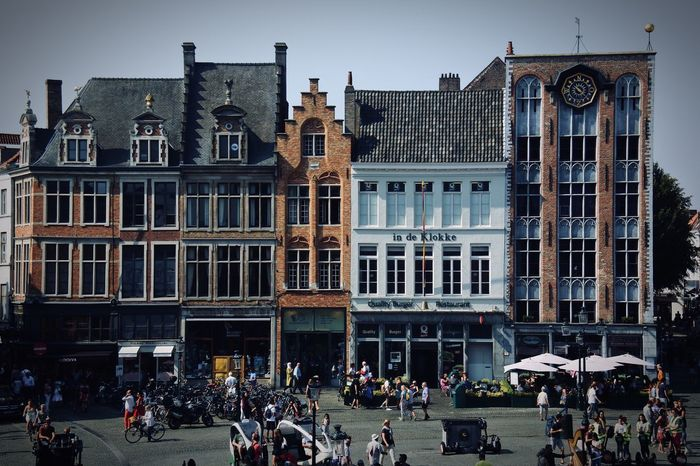 Architecture in Brugge 📍 Architecture Large Group Of People Building Exterior Built Structure Real People City Life Travel Destinations Men Outdoors Women Day Travel City Lifestyles Crowd Sky People Adult