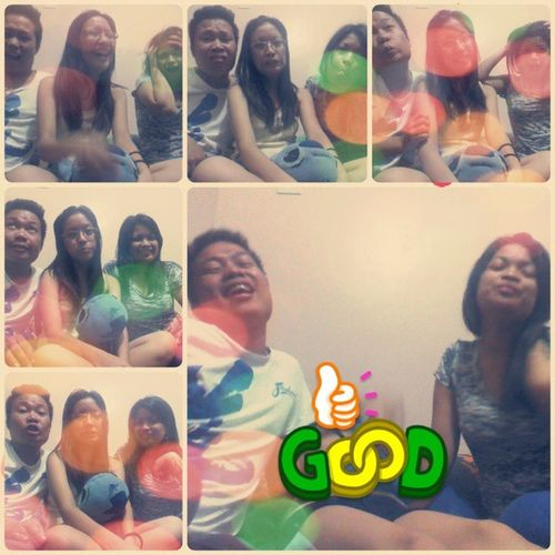 there will never be a dull moment when you are with your bestfriends :)) hi cuz & asawa! <3 @burlesquesoul Timmygucci MedyoThrowback Wacky Epicfaces bestoffriends