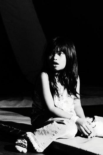 #potrait#monochrome#mygirl# MyGIRL Monochrome Potrait Beautiful Woman Sitting Beauty