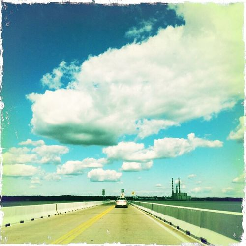 Take it to the bridge Highway Bridges Cloud Porn Clouds And Sky