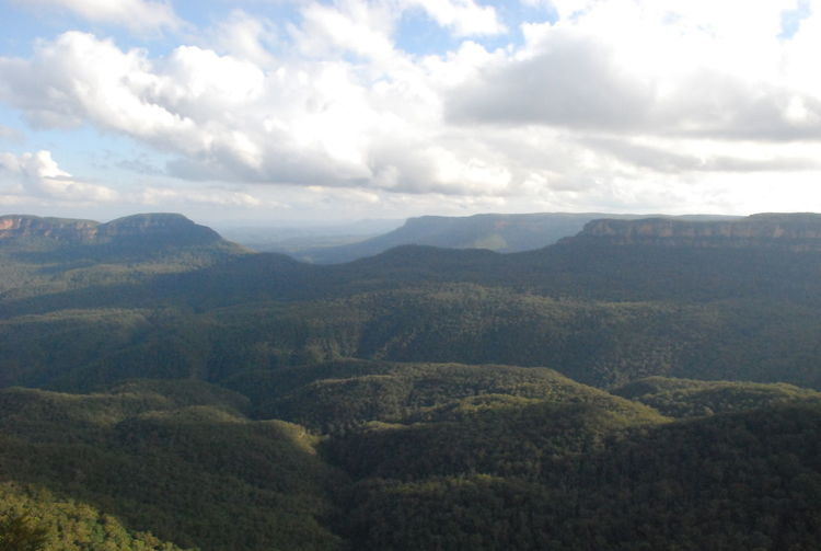 Photos of Blue Mountains National Park, Australia 2012 Beauty In Nature Cloud - Sky Day Growth Idyllic Landscape Mountain Nature No People Outdoors Scenics Sky Tranquil Scene Tranquility Tree