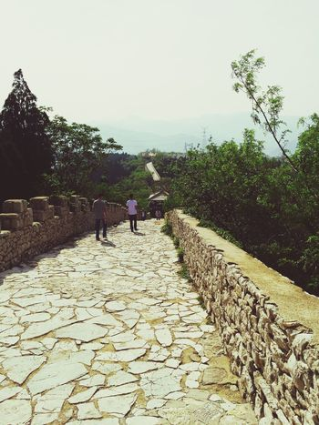 China Cassie_shen The Great Wall the Great Wall of Qi Classical Architecture Architecture Traveling Great Views