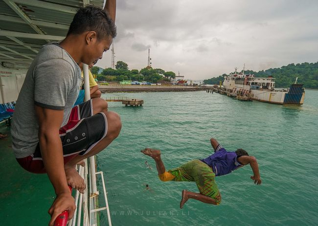 Travelled by ferry from Java island to Sumatra island today The Places I've Been Today INDONESIA People Traveling Candid Taking Photos Relaxing Landscape Adventure Club The Moment - 2015 EyeEm Awards The Photojournalist - 2015 EyeEm Awards