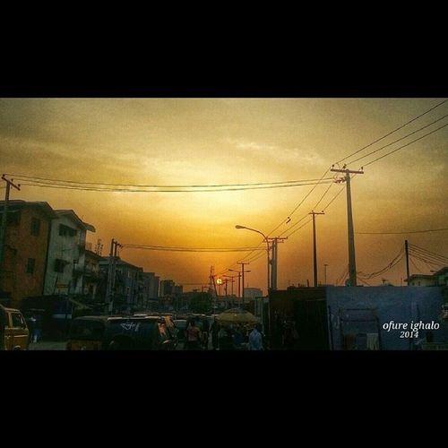 Sun Set @ adeniji