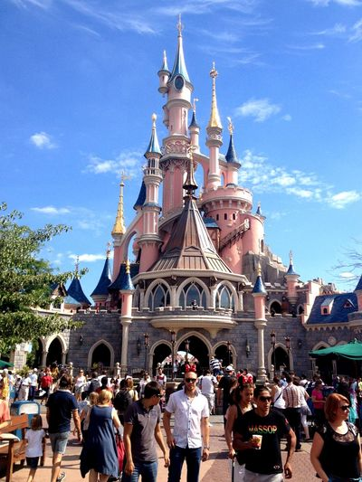 Disneyland, Paris Sky Religion Architecture Place Of Worship Built Structure History Building Exterior An Eye For Travel