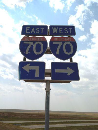 ways Road Sign