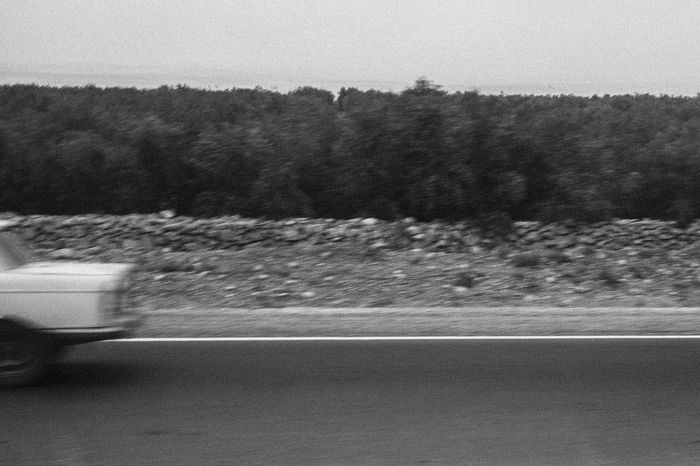 Blurred Motion Car Close-up Day Land Vehicle Landscape Mode Of Transport Motion Nature No People Outdoors Peugeot404 Road Sky Speed The Way Forward Transportation Tree Vintage Cars