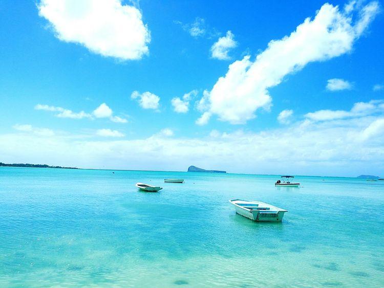 Beach Mauritius Coin De Mire