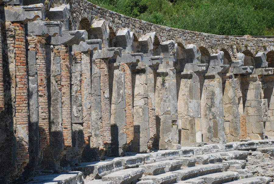 Ancient Architecture Ancient Building Ancient Civilization Ancient Column Ancient Ruins Antalya Arches Aspendos  Aspendos Ancient Theatre Day History No People Outdoors Roman Roman Architecture The Past Theatre Turkey