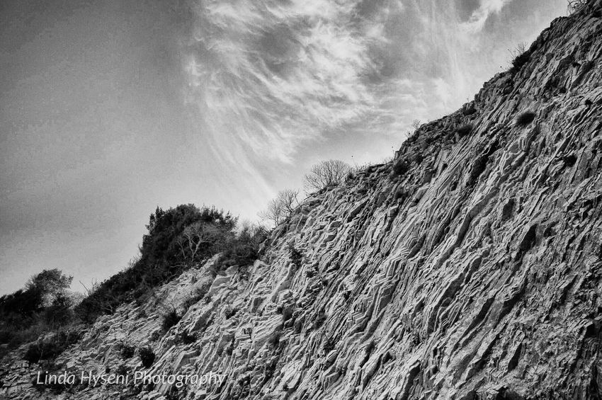 Noperson Blackandwhite Nature Rock Sky Outdoors Travel Hill Monochrome Vacation Time Landascape Places
